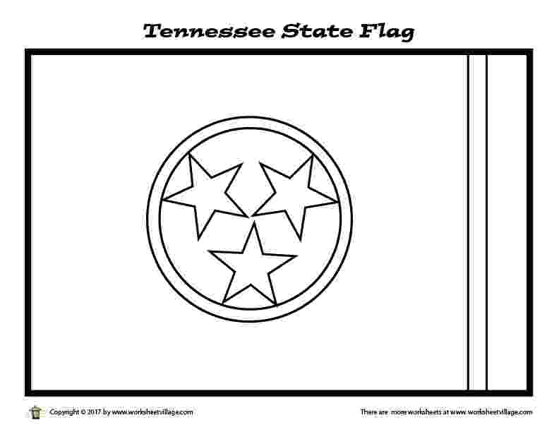 tennessee state flag coloring page tennessee state flag coloring page free printable flag coloring tennessee state page