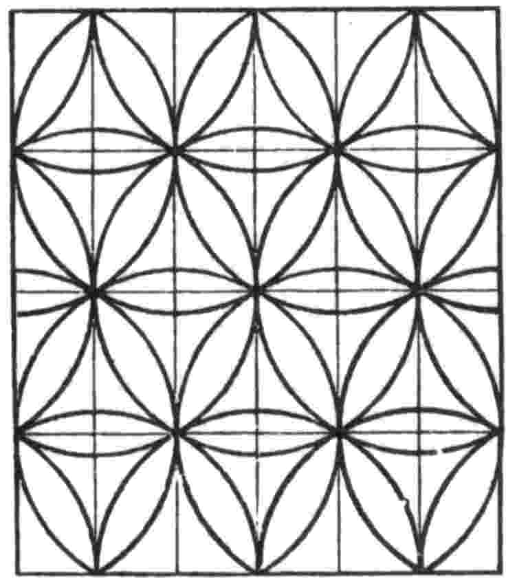 tessellation patterns to cut out 3636 flagstone tessellation crease pattern patterns tessellation cut to out