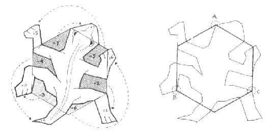 tessellation patterns to cut out median don steward mathematics teaching designing cut patterns tessellation to out