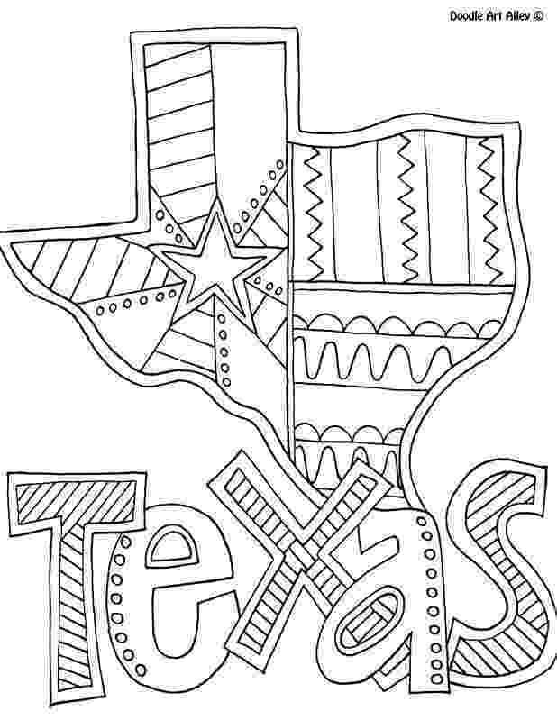 texas coloring page color your cares away texas style funcity stuff dfw coloring page texas