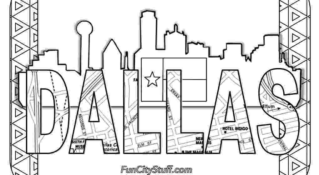 texas coloring page color your cares away texas style funcity stuff dfw page texas coloring
