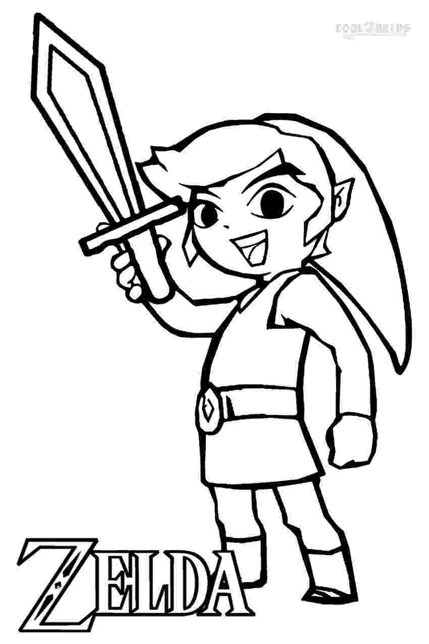 the legend of zelda coloring pages printable zelda coloring pages for kids cool2bkids coloring the legend zelda pages of