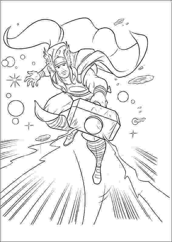 thor coloring sheet thor coloring pages getcoloringpagescom thor coloring sheet