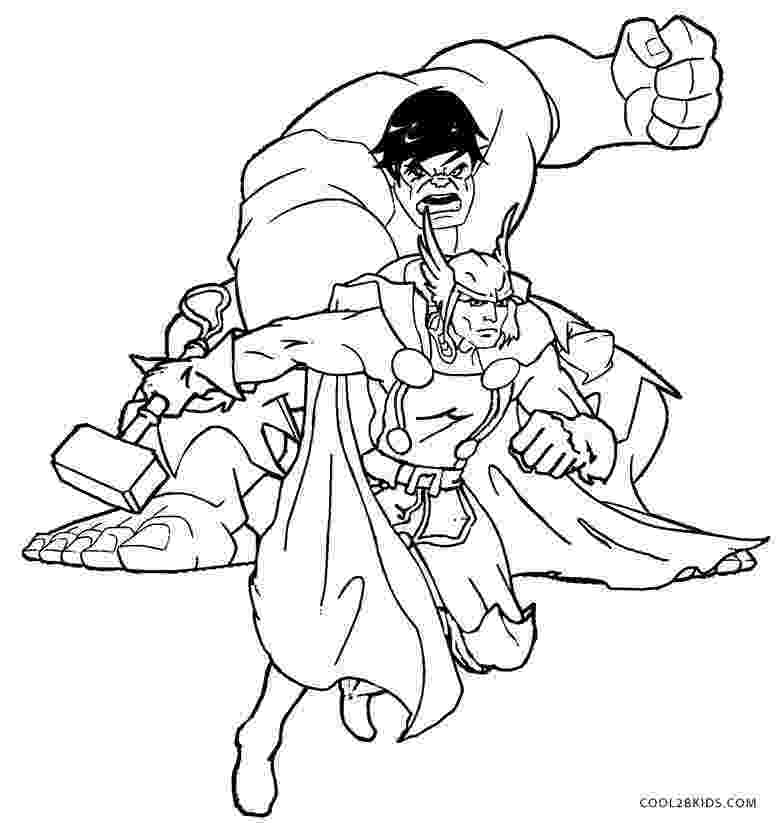 thor coloring sheet thor coloring pages to download and print for free thor coloring sheet 1 1