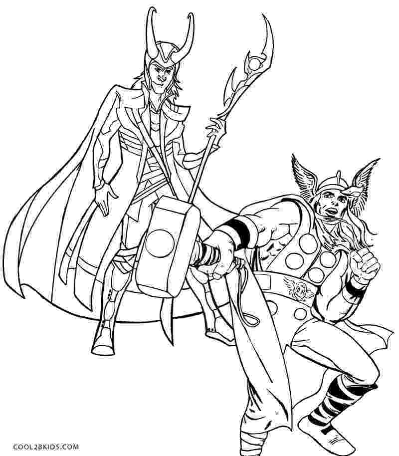 thor coloring sheet thor coloring pages to print the avengers avengers sheet coloring thor