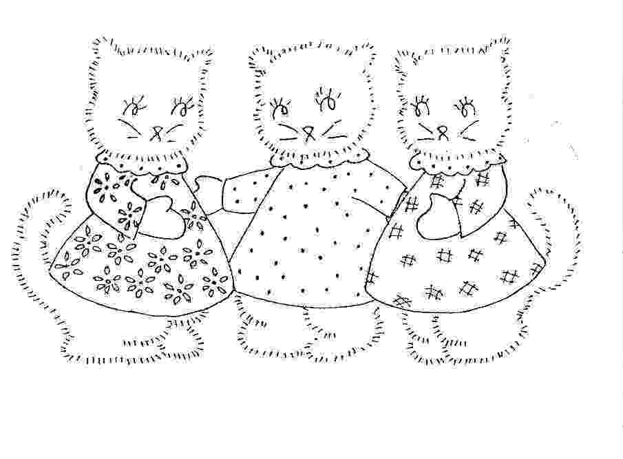 three little kittens coloring pages cat coloring pages three little kittens kittens pages coloring three little