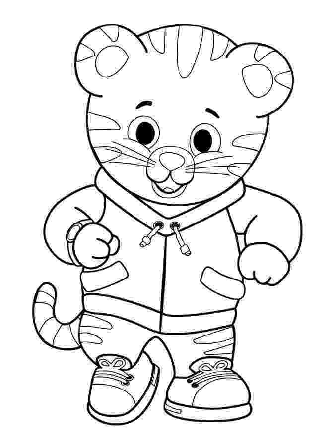 tiger color daniel tiger coloring pages best coloring pages for kids color tiger