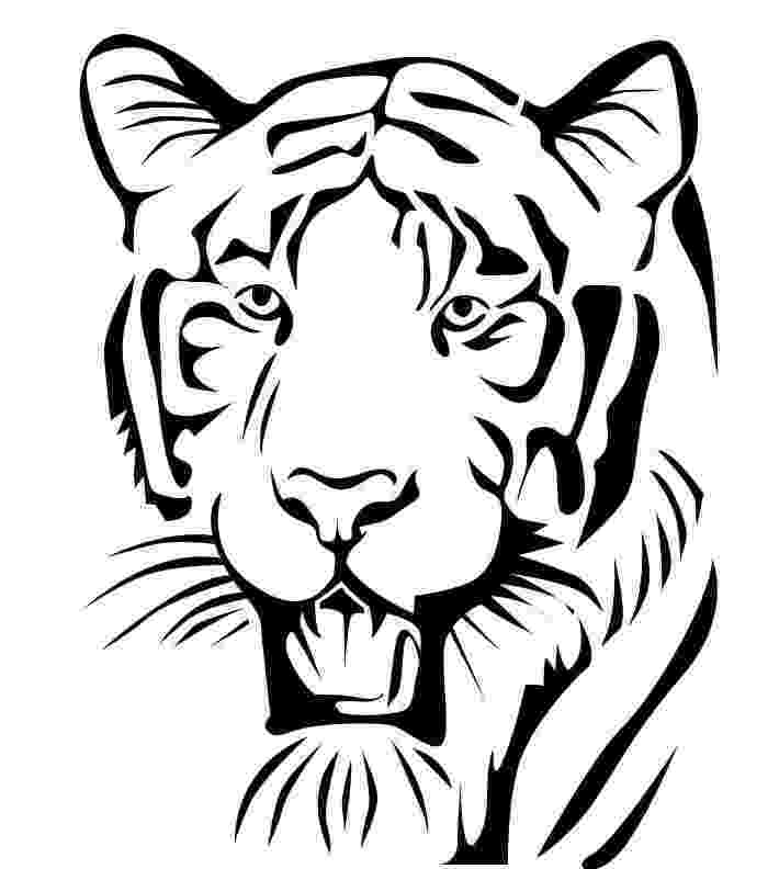 tiger printable detroit tigers coloring pages learny kids printable tiger