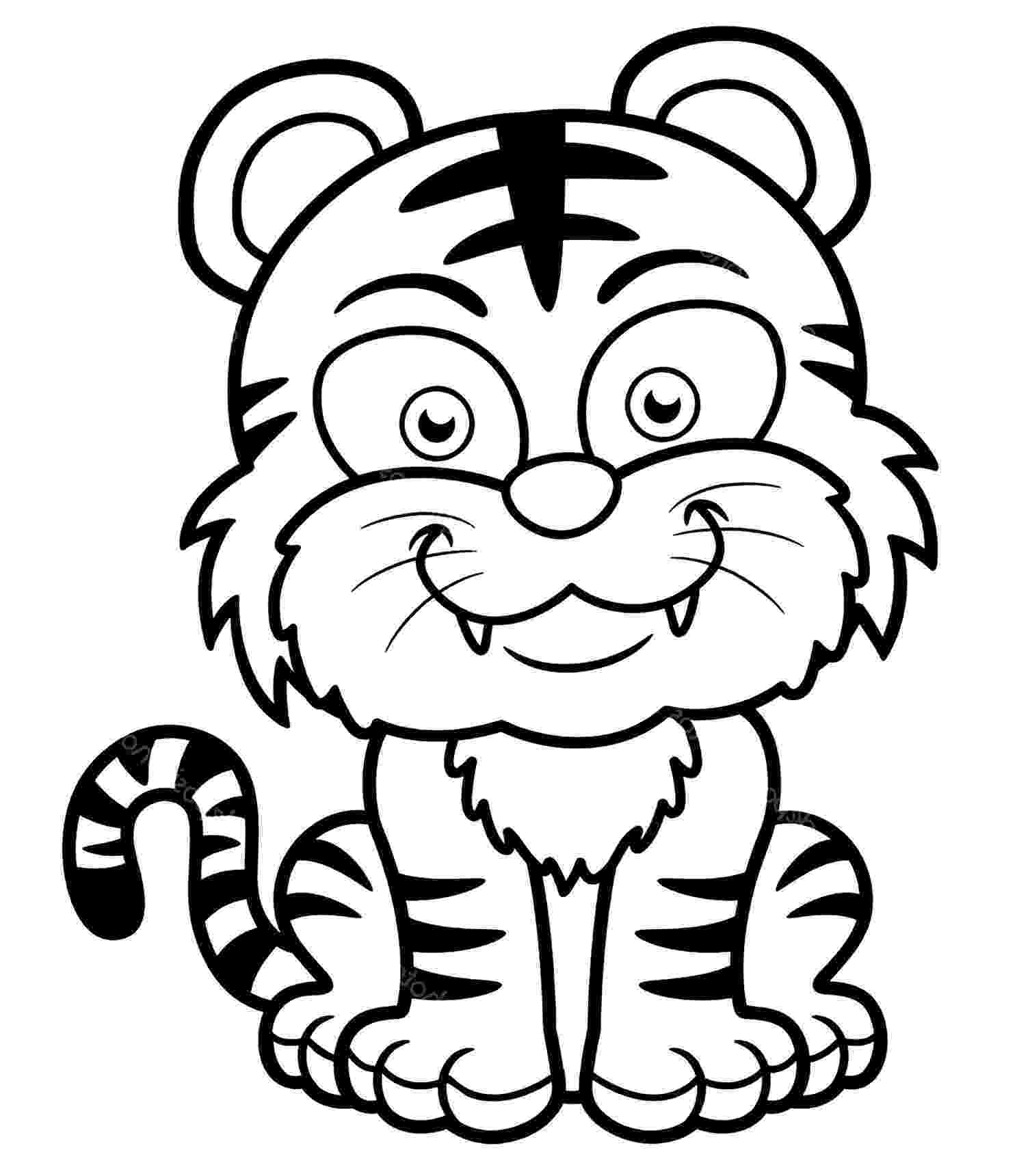 tiger printable tiger coloring page free printable coloring pages printable tiger