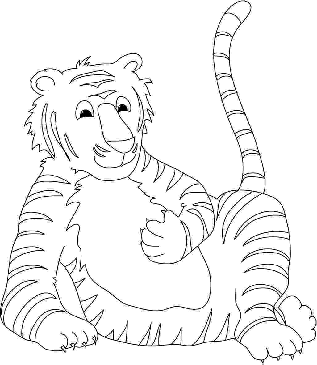 tiger without stripes coloring page tiger without stripes coloring page coloring pages without tiger coloring stripes page