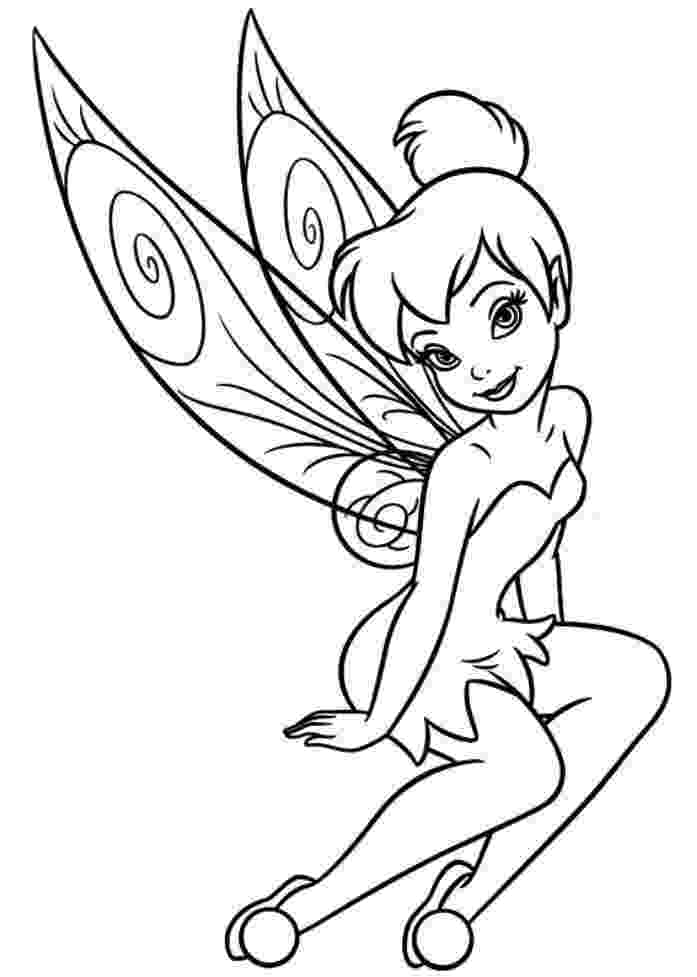 tinker bell coloring pages coloring pages tinkerbell coloring pages and clip art tinker coloring bell pages