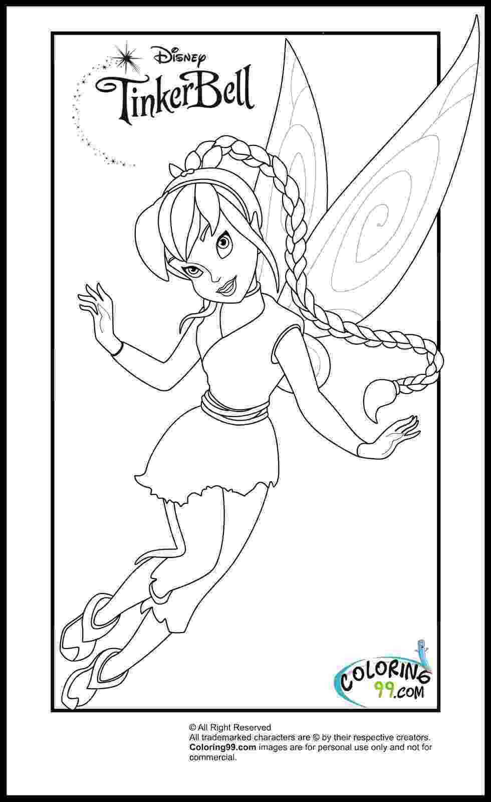 tinkerbell fairy coloring pages june 2013 team colors pages fairy coloring tinkerbell