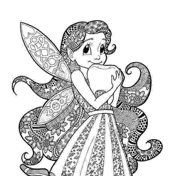 tooth fairy pictures to color items similar to tooth fairy coloring page zentangle tooth to color fairy pictures