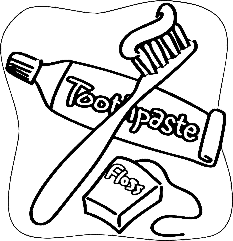 toothbrush coloring page toothbrush coloring page at getcoloringscom free toothbrush coloring page