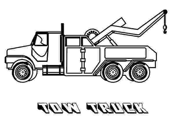tow truck coloring pages big tow semi truck coloring page netart truck coloring pages tow