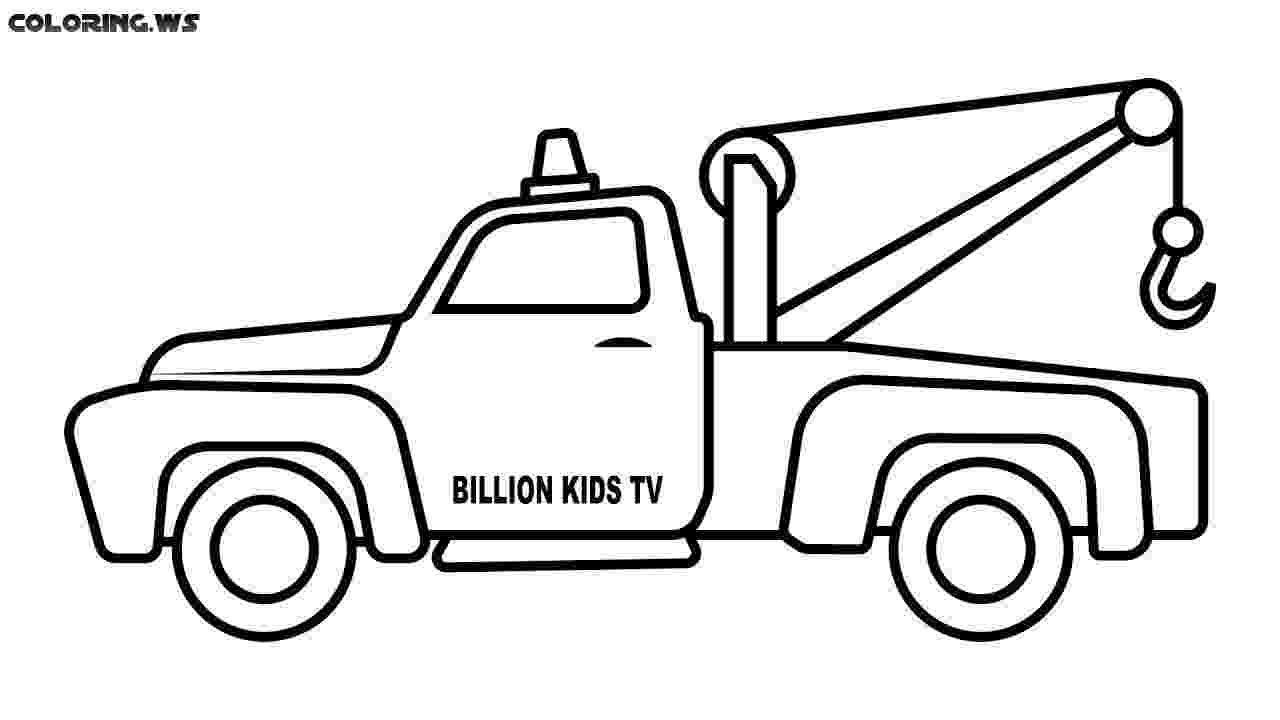 tow truck coloring pages top 25 free printable truck coloring pages online pages coloring truck tow