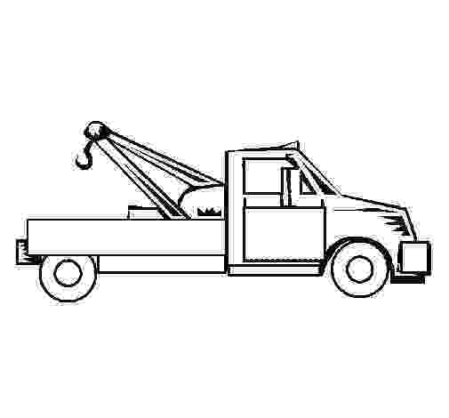 tow truck coloring pages tow truck tow truck pages coloring