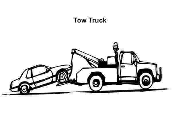 tow truck coloring pages tow trucks coloring pages coloring home pages tow truck coloring
