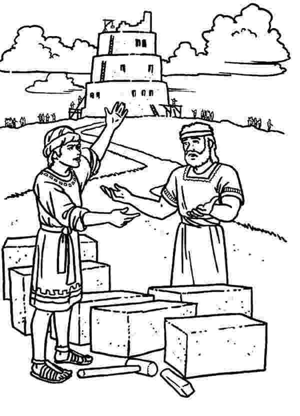 tower of babel coloring pages for kids tower of babel coloring page tower of babel coloring kids pages of coloring tower for babel
