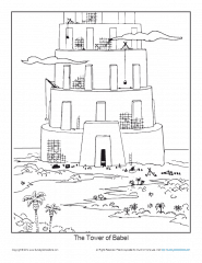 tower of babel coloring pages for kids tower of babel coloring sheet wesleyan kids coloring pages for kids of tower babel