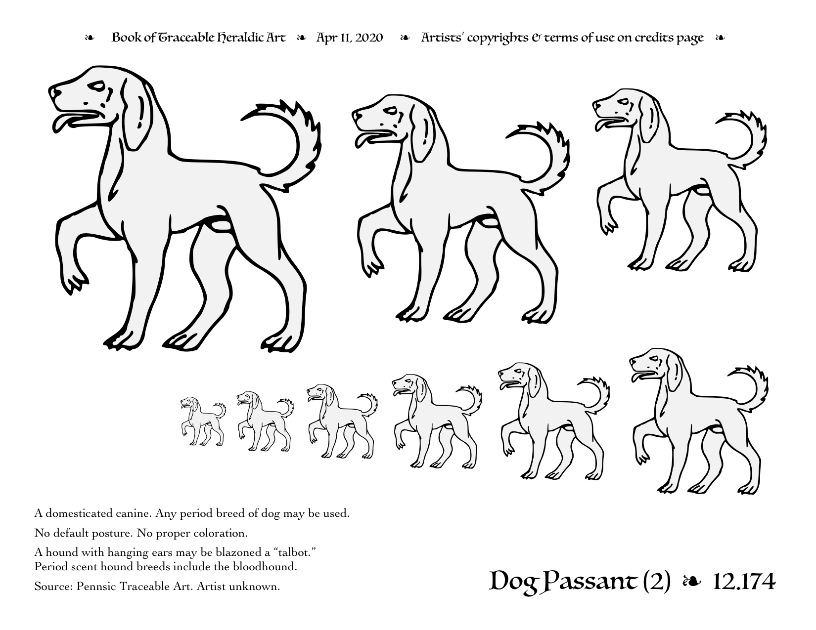 traceable dog pictures dog traceable heraldic art dog pictures traceable