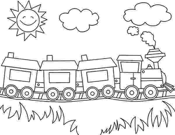 train color pages blank train coloring pages coloring home pages color train