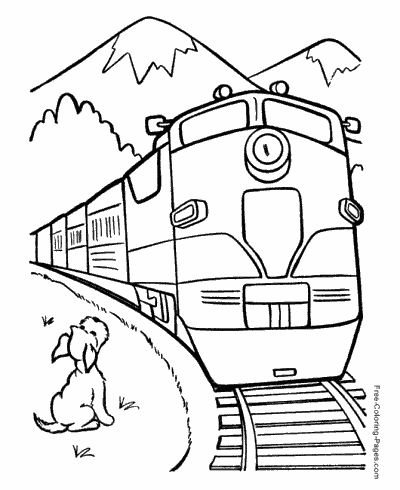 train color pages free printable coloring book pages connect the dot pages color train pages