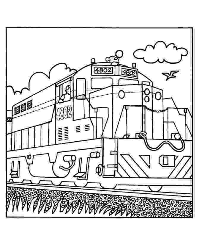 train color pages train coloring pages getcoloringpagescom pages train color