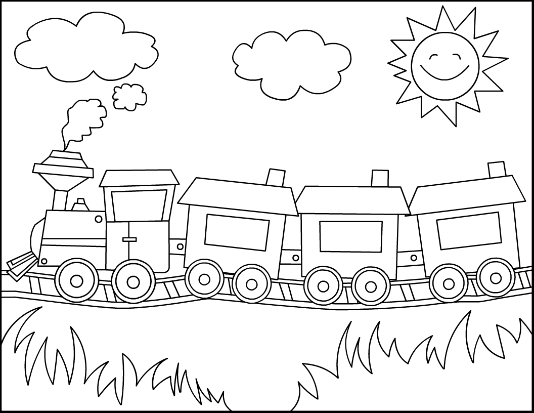 train coloring pages for preschoolers free printable train coloring pages for kids train pages train preschoolers coloring for