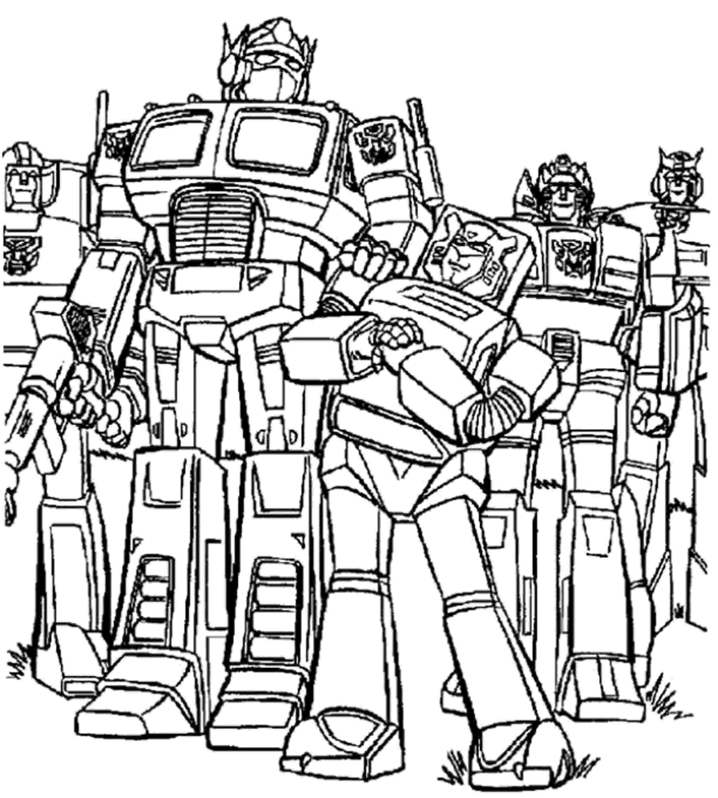 transformer coloring page transformers coloring pages getcoloringpagescom coloring transformer page