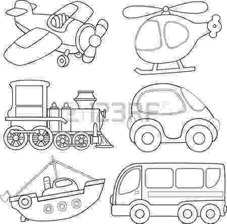 transport pictures to colour ambulance car transportation coloring pages for kids colour to transport pictures