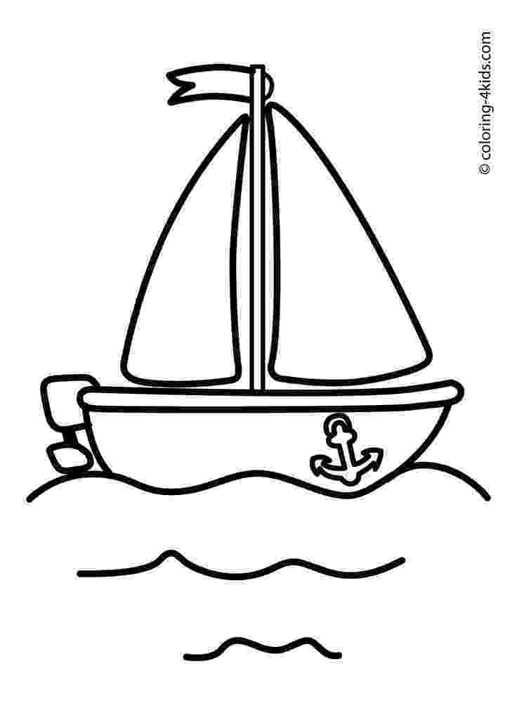 transportation coloring pages for kids boat sailing ship coloring pages for kids transportation transportation pages for kids coloring