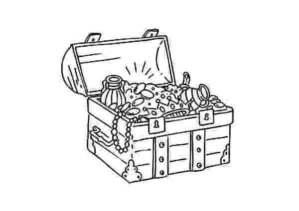 treasure chest coloring pages printable pete the pirate activities pirate treasure chest coloring pages treasure printable chest