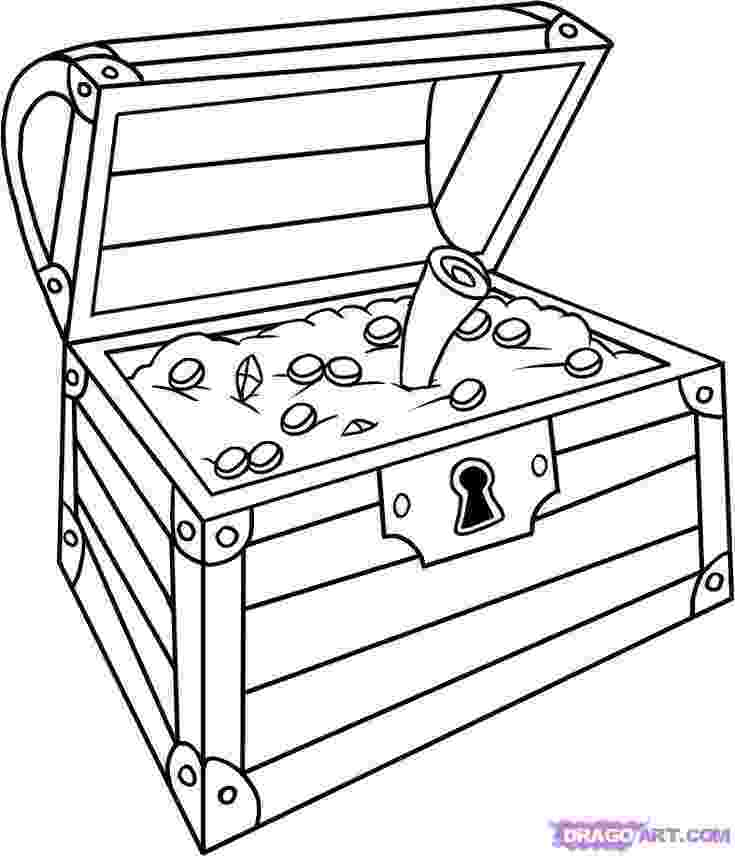 treasure chest coloring pages printable treasure chest coloring pages getcoloringpagescom chest printable treasure coloring pages