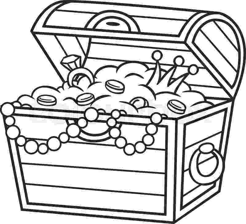 treasure chest coloring pages printable treasure chest printable coloring home treasure printable coloring chest pages