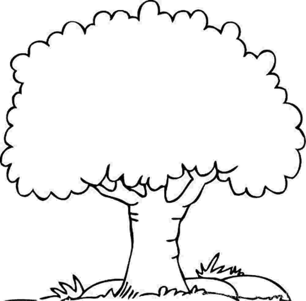 tree coloring pages tree drawing outline free download on clipartmag tree pages coloring