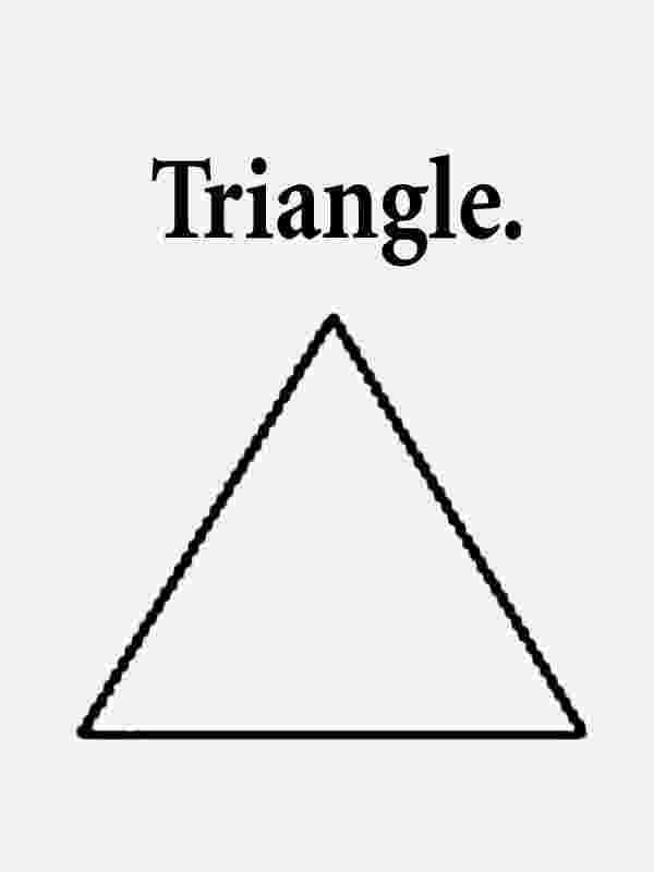 triangle for coloring triangle coloring page kinderart coloring for triangle