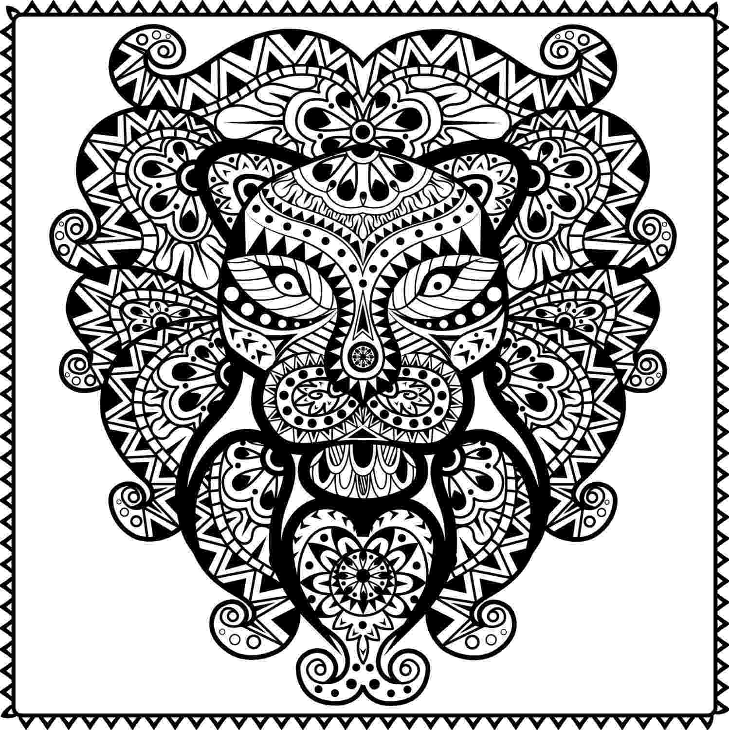 tribal coloring pages unicorn fish with tribal pattern coloring page free tribal coloring pages
