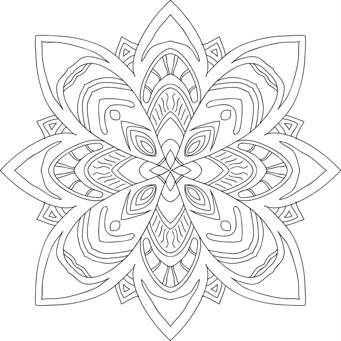 tribal coloring pages working sheet of a hibiscus flower tattoo tribal design pages tribal coloring