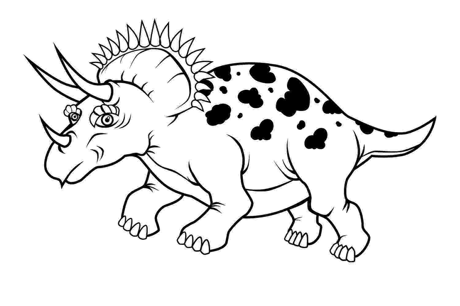 triceratops picture dinosaur coloring pages what to expect triceratops picture