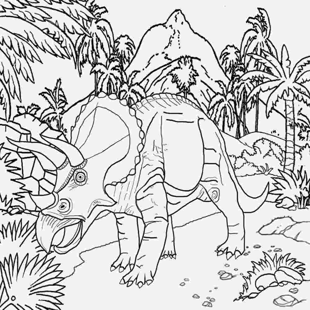 triceratops picture free coloring pages printable pictures to color kids picture triceratops
