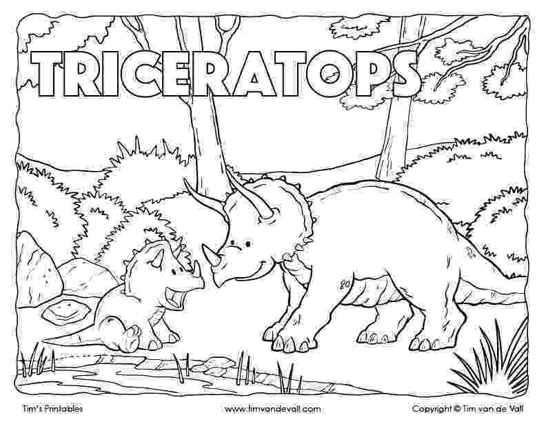 triceratops picture printables archive tim39s printables picture triceratops