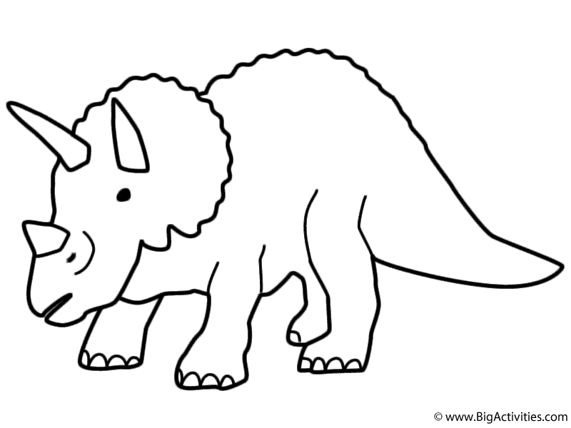 triceratops picture triceratops printout zoomdinosaurscom triceratops picture