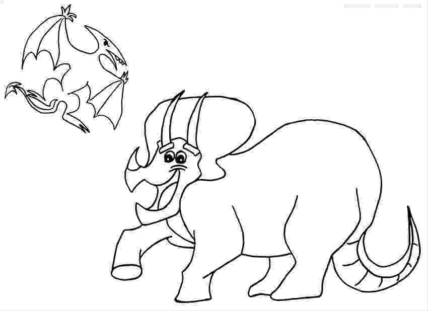 triceratops pictures to color dinosaurs coloring pages collection free coloring sheets to color triceratops pictures