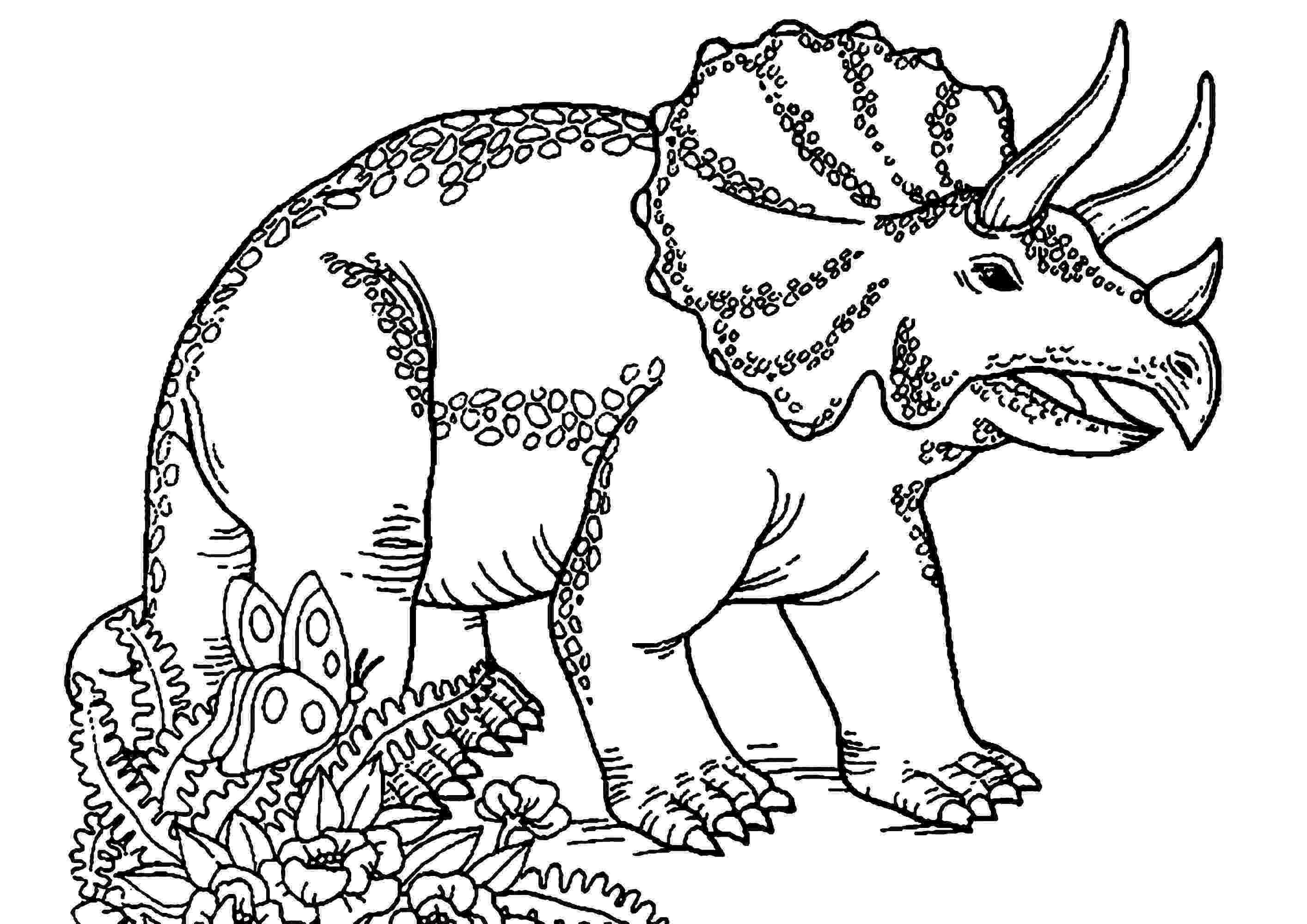 triceratops pictures to color dinosaurs to print triceratops dinosaurs kids coloring pictures to triceratops color