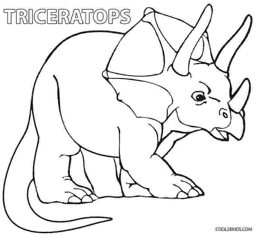 triceratops pictures to color printable triceratops coloring pages for kids cool2bkids to triceratops pictures color