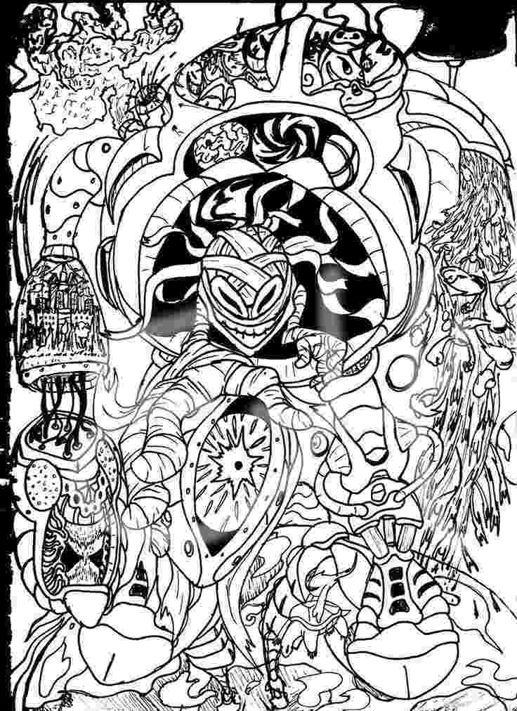 trippy coloring sheets trippy alice in wonderland coloring pages coloring home coloring sheets trippy