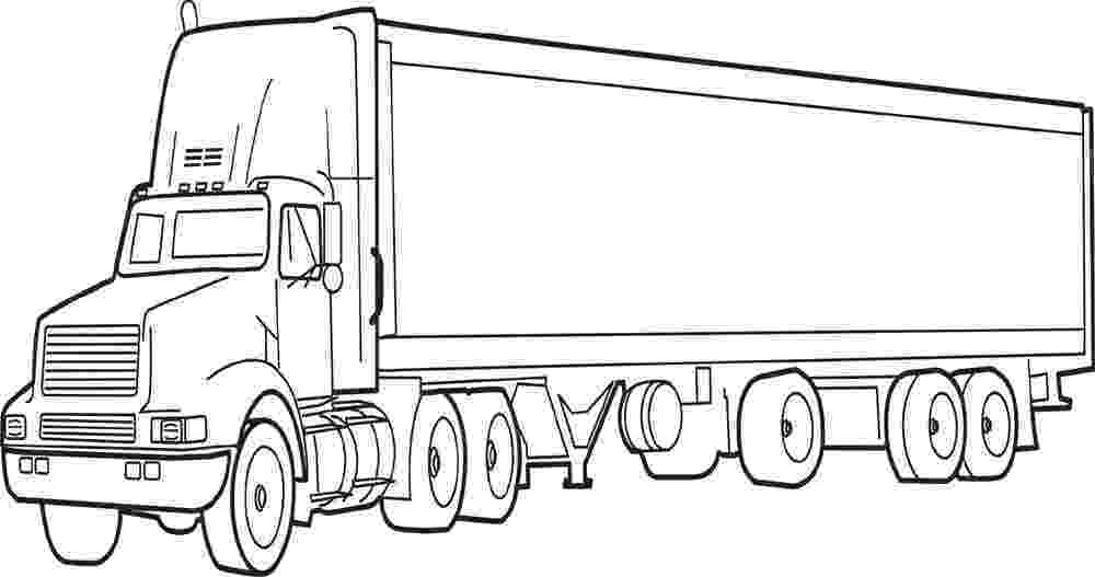 truck coloring pictures 40 free printable truck coloring pages download pictures coloring truck