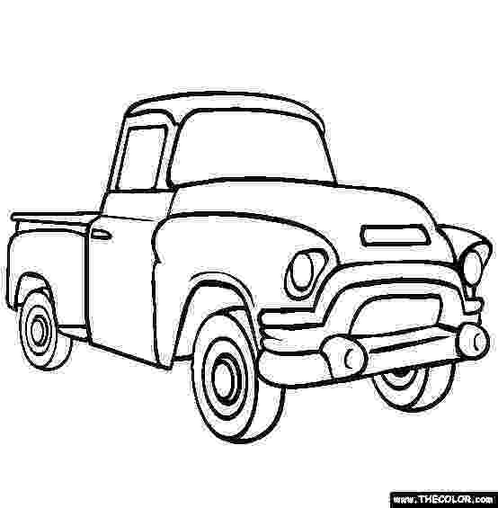 truck coloring pictures pickup truck coloring page free pickup truck online coloring truck pictures
