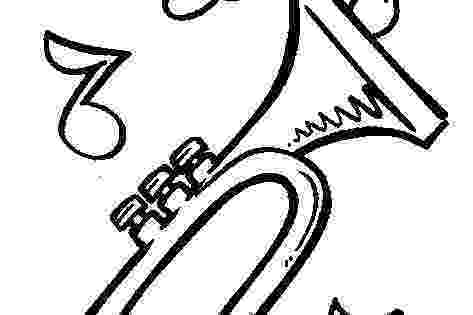 trumpet picture to color winniethepoohplayingtrumpetinstrumentcoloringpage color to picture trumpet